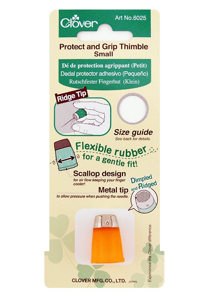 Clover 6025 Small Protect and Grip Thimble