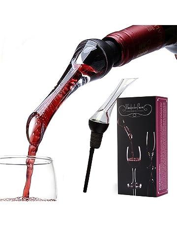 iRoundy Aerador de Vino,Vino Pourer, Aireador rápido - The Perfect Wine Decanter &