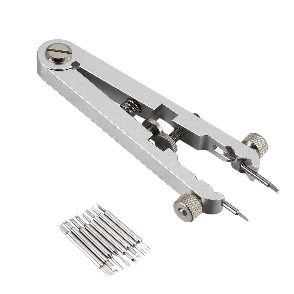 Ywillink Watch Bracelet Spring Bar Standard Plier Remover Replace Removing Tool Tweezer Kit