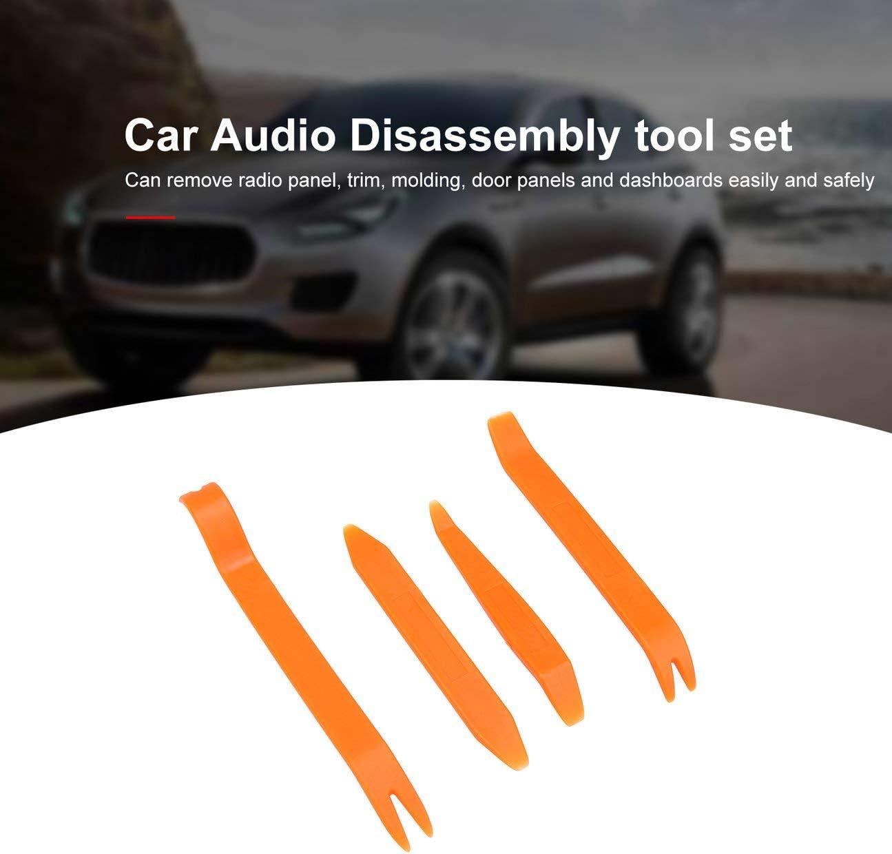 1 Set Outil De D/émontage Audio De Voiture En Plastique Auto Panneau Trim Trim Dash Open Installer Suppression R/éparation Pry Tools Kit