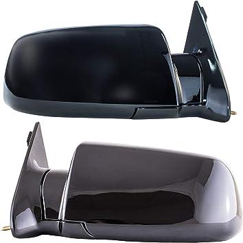 88-98 C1500 C2500 C3500 Dependable Direct Right Passenger Side Mirror Manual Operated for 92-94 Chevy Blazer 95-2000 Tahoe 92-99 Suburban 92-2000 GMC Yukon