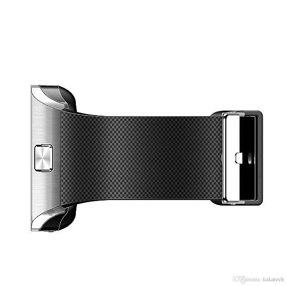 Amazon.com: Reloj Inteligente DEPORTIVO CON CAMARA PARA IPHONE Y ANDROID DIGITAL DE MUJER Y HOMBRE UNISEX ACCESORIOS PARA CELULARES RE0107 (SILVER/BLACK): ...
