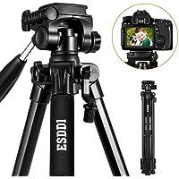 Treppiede ESDDI 170 cm/67'' Treppiedi Fotocamera DSLR Alluminio Compatto Treppiede Leggero Per Canon Nikon Sony Olympus DV Comprensivo di Borsa per il Trasporto