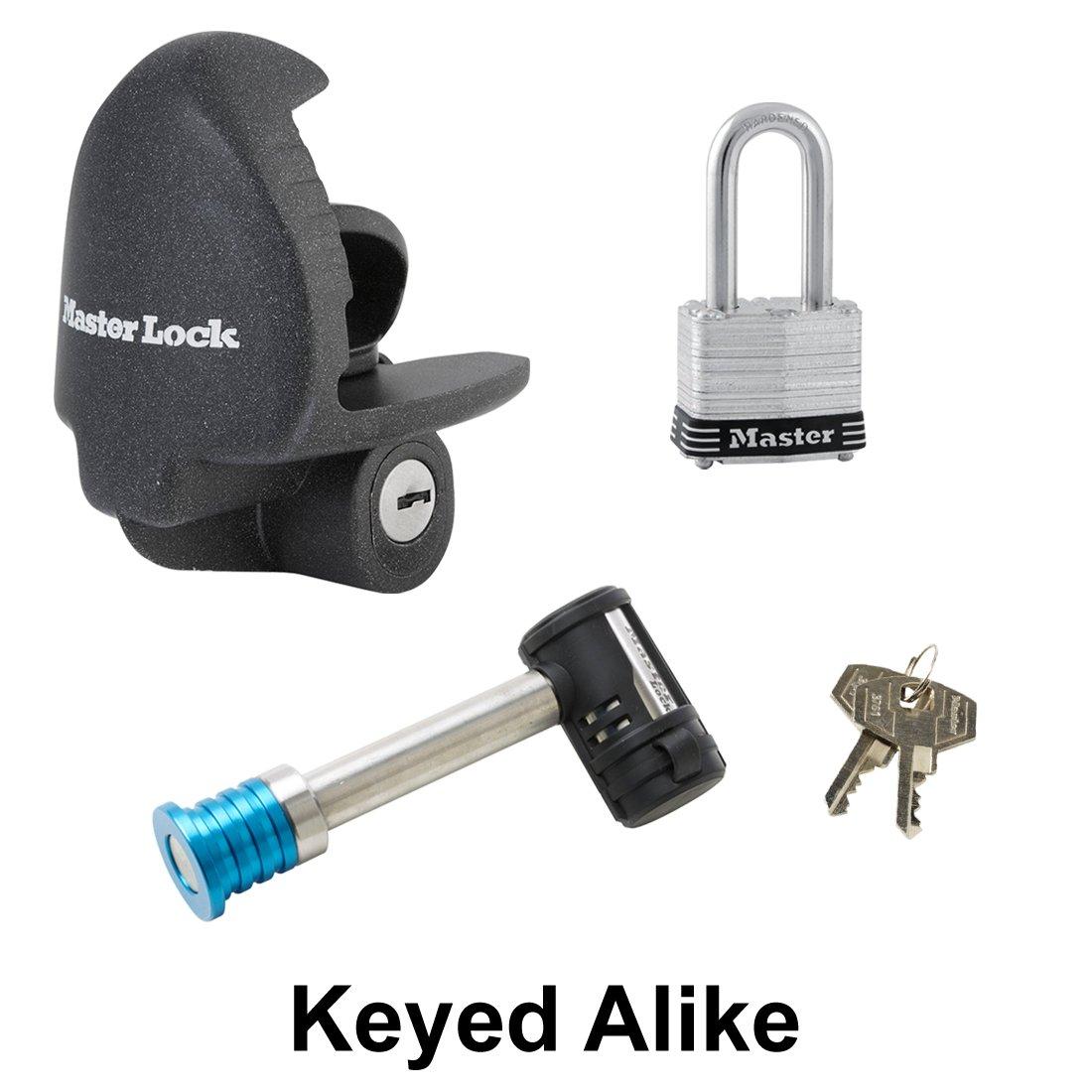 Master Lock - 3 Trailer Locks Keyed Alike 3KA-379-3
