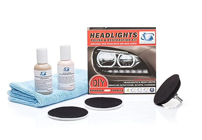 Supply Car Headlights Diy Polishing Kit Cloudy Lights Taillights Fog Lights Polishing Headlight Restoration Kit For Electric Drill Dependable Performance Abrasive Tools