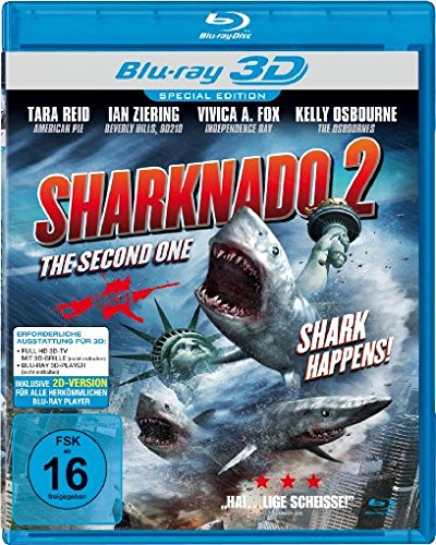 Sharknado 2 - The Second One [Alemania] [Blu-ray]: Amazon.es: Ian ...