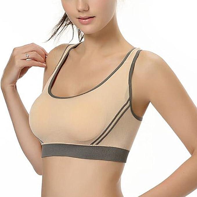 Sujetador deportivo Isassy para mujeres, para yoga, fitness, danza y aeróbic: Amazon.es: Ropa y accesorios
