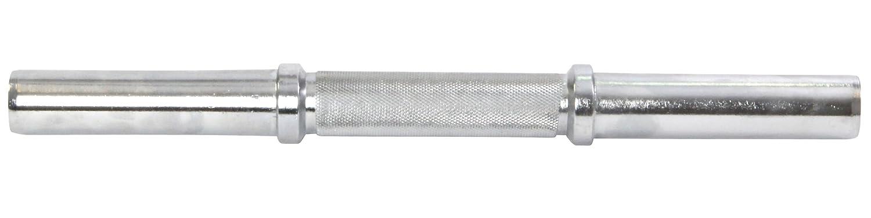 POWRX - Barra Corta de mancuerna (2 Unidades con Cierre de Resorte (| Cromado & moleteados | Varios Longitudes - 35 cm, 38 cm, 40 cm, 40 cm: Amazon.es: ...