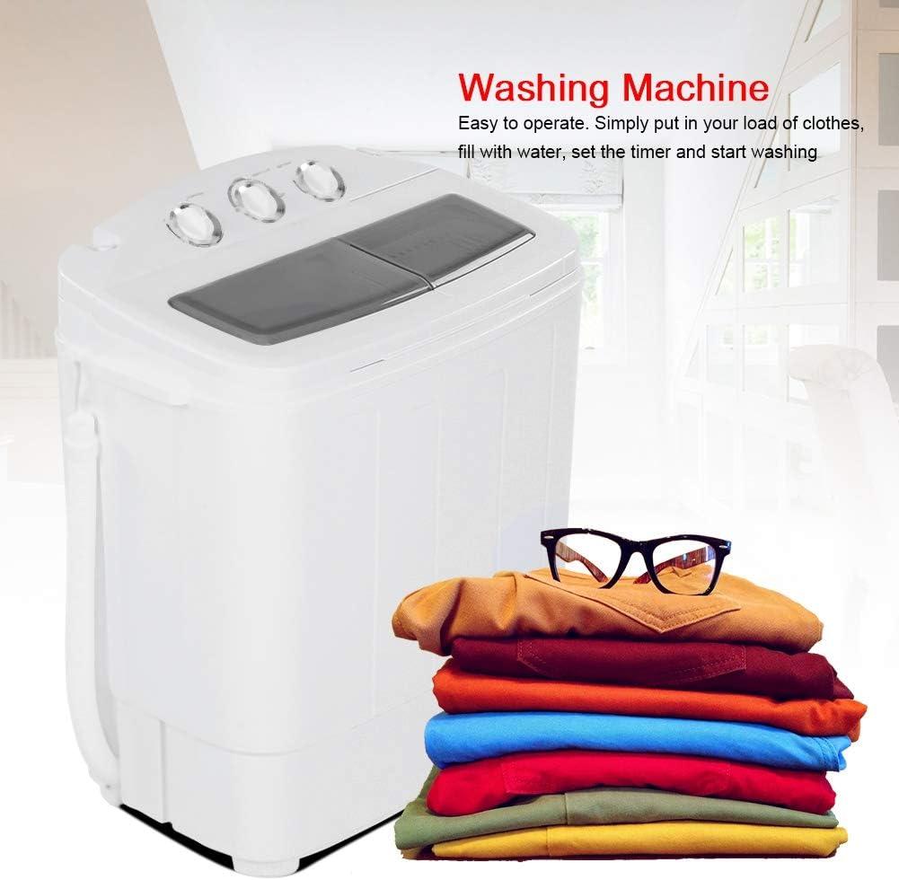 eau et /économie d/énergie machine /à laver de camping avec minuterie Dioche Mini machine /à laver portable avec minuterie id/éal pour la maison et le dorme capacit/é de lavage de 5 kg