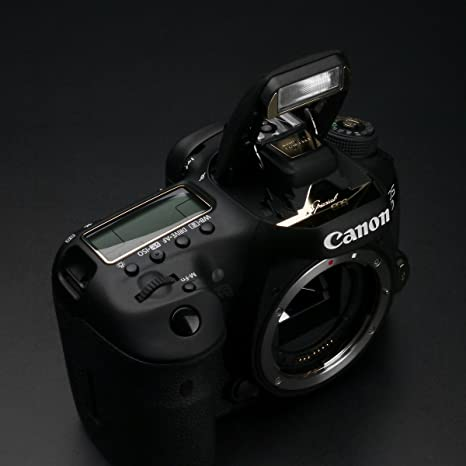 Amazon com: Gariz Metal Skin Sticker for Canon 7D Mark II MS