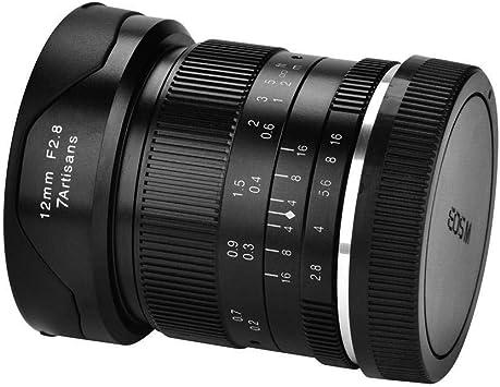 Lente de cámara, lente gran angular de enfoque manual F2.8-F16 de ...