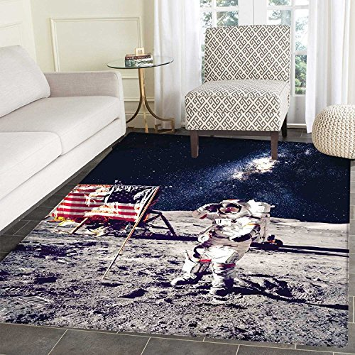 Galaxy Customize Floor mats for home Mat American Cosmonaut