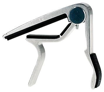 Dunlop 88-n Trigger diapasón ancho-niquelada-su forma ergonómica y mango acolchado