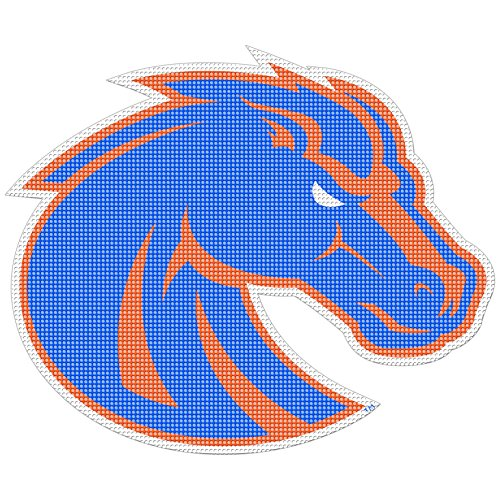 (Stockdale Boise State Broncos Perforated Vinyl Window Decal)