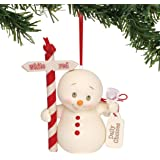 "Department 56 Snowpinions Daily Choices Hanging Ornament, 3.75"", Multicolor"
