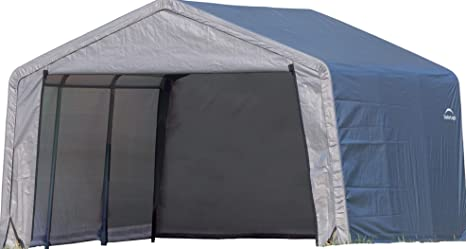 ShelterLogic – Pantalla dispositivos dispositivo Casa en de caja a, 13,7 m²,