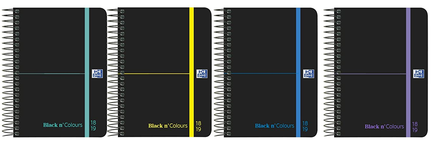 Amazon.com : Oxford Black n Colors - Homework Diary, Week ...