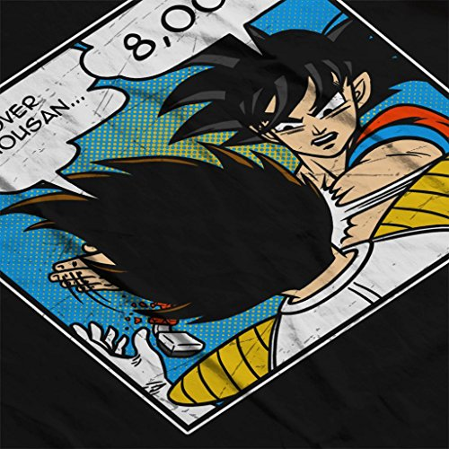 Cloud Cloud Cloud 7 7 7 7 Z 9000 Women's Goku Over Slap Nero Dragon Sweatshirt City Ball ggxqTrn
