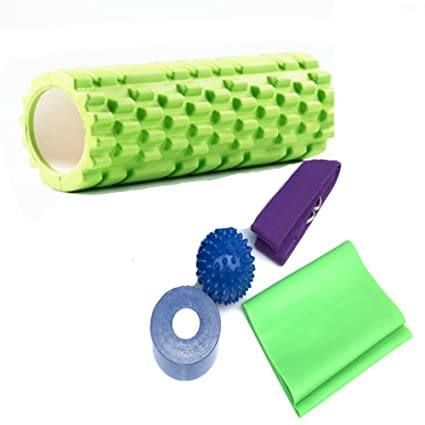 Amazon.com : RANRANHOME Yoga Massage Set Yoga Massage Column ...