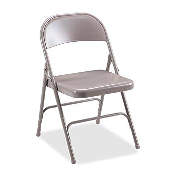 Marvelous Amazon Com Lorell 4 Carton Folding Chairs Steel Seat 19 3 Creativecarmelina Interior Chair Design Creativecarmelinacom