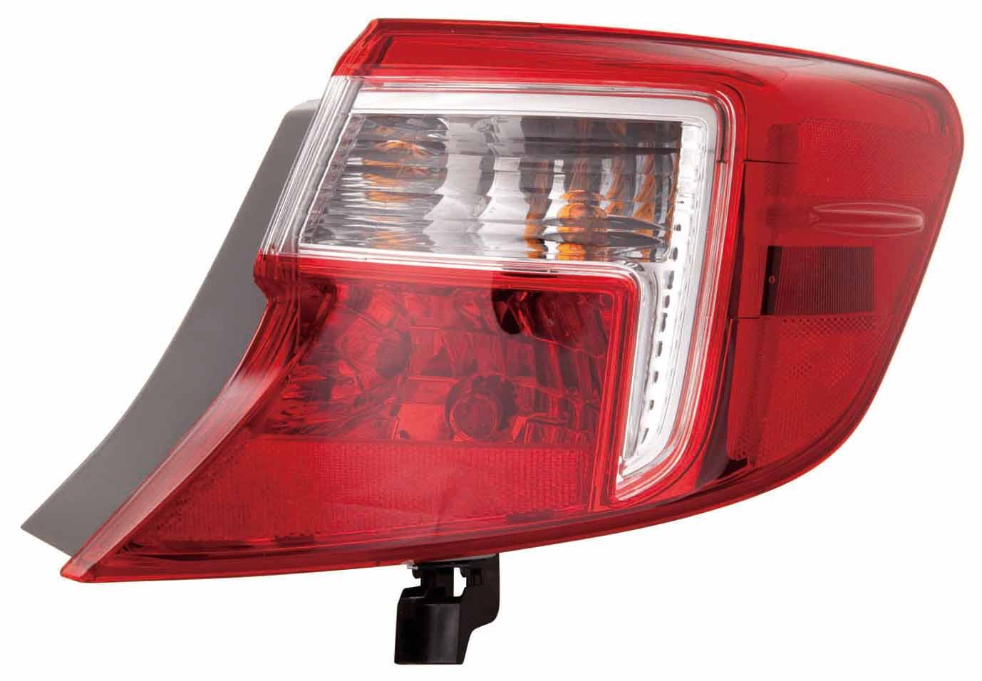 Amazon.com: Depo Toyota Camry Tail Lamp Assembly, Lado de ...