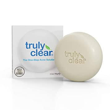 Amazon Com Get Truly Clear Skin Today In Minutes 1 Acne Bar Face Chest Back Acne Blemish Acne Treatment 98 42 Natural Face Wash Body Back Butt Cleanser Pimple Removal Cystic Acne