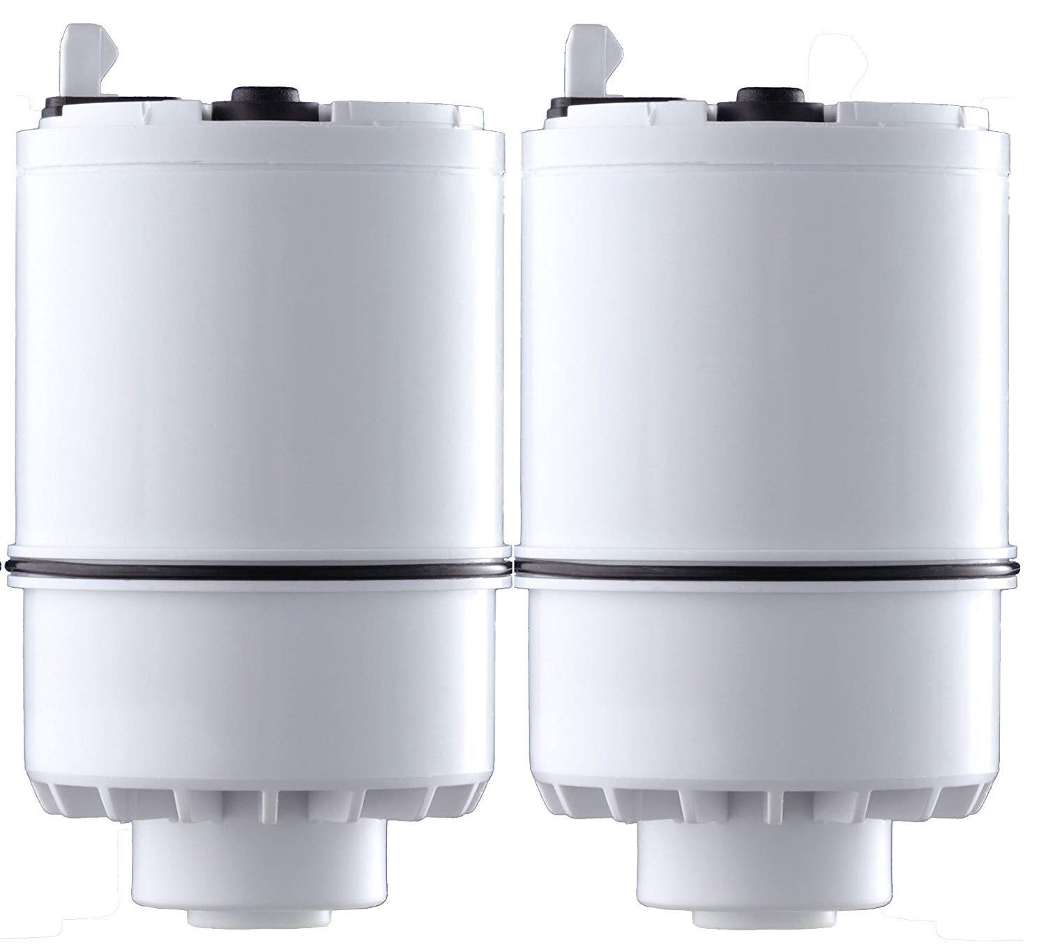 2 Pack RF-3375 Faucet Mount Mineral Clear Replacement Water Filter White, Compatible with Pur RF-3375 Faucet Water Filter (Pack of 2)