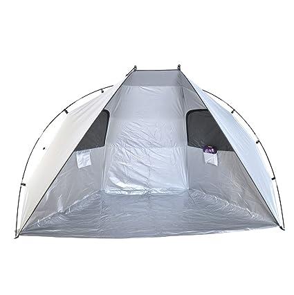 Super - Caseta de playa de cabana/refugio para el sol – UPF 100,