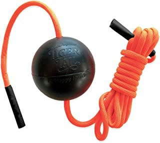 """product image for Tiger Tail Tiger Ball 1.7 Foam Roller Ball + 55"""" Corded Rope – Deep Tissue Massage Ball: Feet, Legs, Neck, Back – Trigger Point Massage Therapy – Relieve Muscle Soreness – Muscle Recovery"""