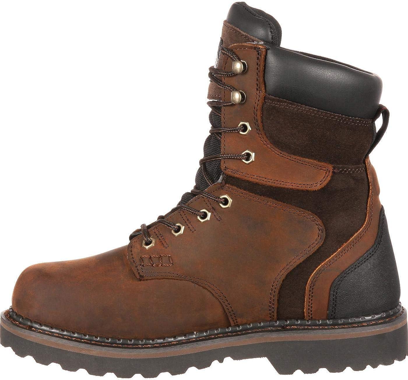 Georgia Boot Mens Georgia Brookville 8 Work Boot Work Shoe