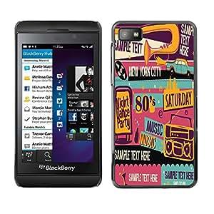 Dragon Case - FOR Blackberry Z10 - Love without end - Caja protectora de pl??stico duro de la cubierta Dise?¡Ào Slim Fit