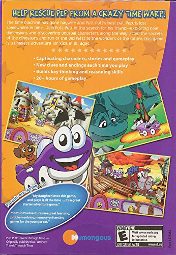 Putt-Putt Travels Through Time