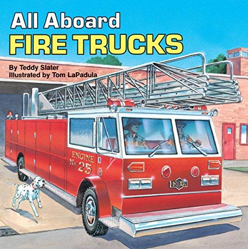 (All Aboard Fire Trucks (All Aboard Book))