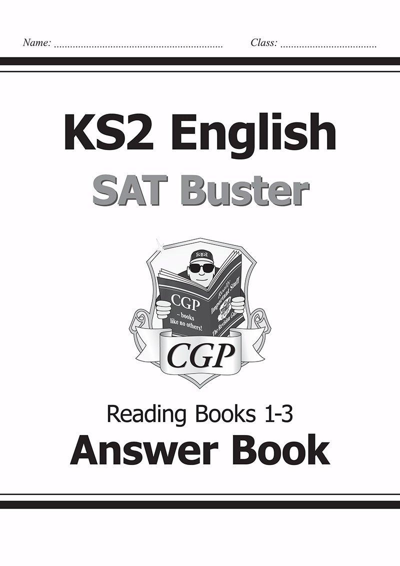 KS2 English SAT Buster - Reading Answer Book: Richard Parsons ...