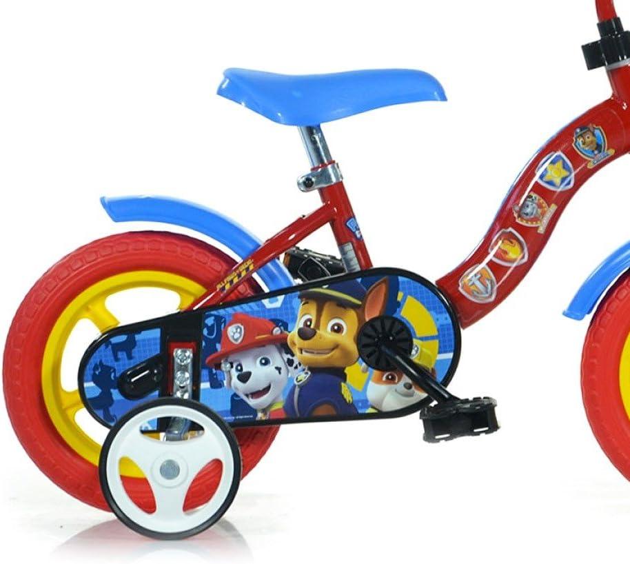 Bicicleta para niños DINO BIKES 108L-PW talla 10 PAW PATROL edad de 2 a 4 años: Amazon.es: Deportes y aire libre