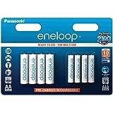 Panasonic Eneloop AA + AAA Eneloop Combination NiMH Ready to Use Rechargeable Batteries 1900mAh (AA) / 750mAh (AAA) Multipack (8 Classic Batteries AAA & AA)