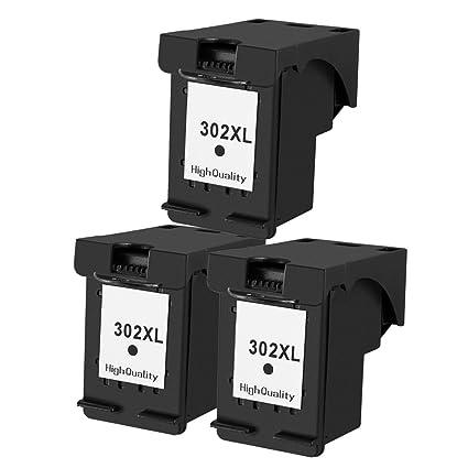 ouguan 3 x negro cartuchos de tinta HP 302 302 x l ...