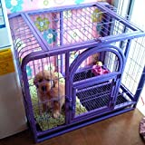 MWGears MWG-C220 24in Heavy Duty Dog Cage / Pet Cage Crate Kennel w/ One...