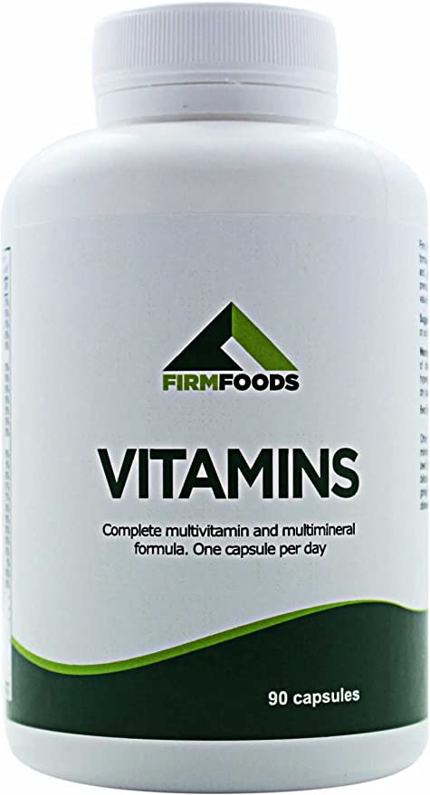 Vitaminas 90 Cápsulas Multivitamin + Multimineral Tabletas 100% GDA - Vitamina C, B1,
