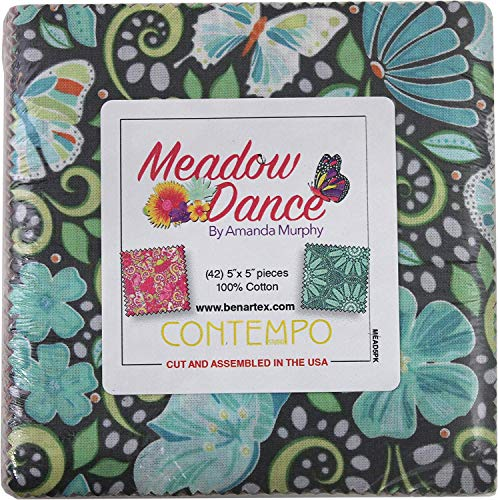Amanda Murphy Meadow Dance 5X5 Pack 42 5-inch
