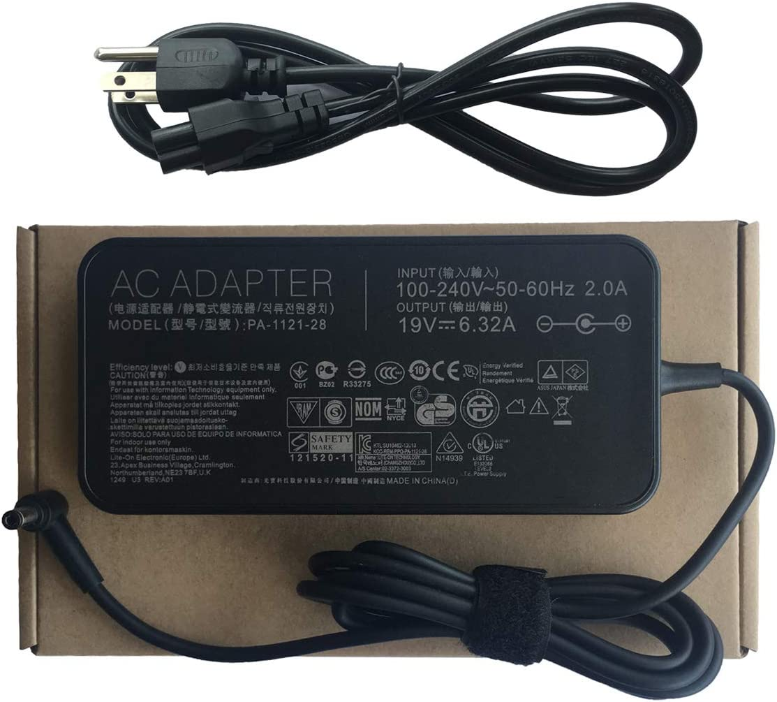 New Original Genuine Slim 120W AC Adapter Charger for Asus ADP-120RH B 19V 6.32A
