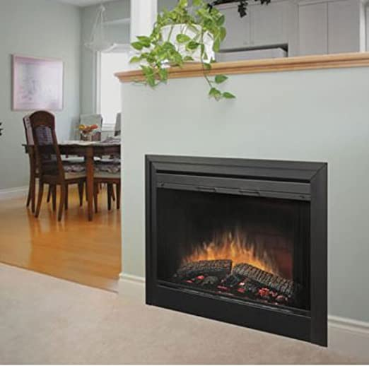 Amazon Com Dimplex 2 Sided Built In Electric Fireplace With