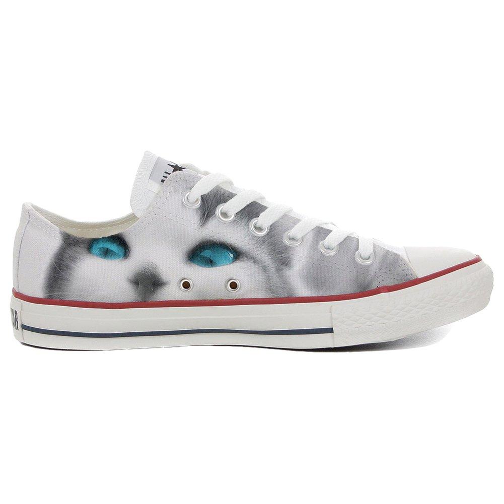 Converse All Star personalisierte Schuhe (Handwerk Produkt) himmel  45 EU