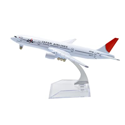 TANG DYNASTY(TM 1:400 16cm Boeing B-777 Japan Airline Metal Airplane Model Plane Toy Plane Model: Toys & Games