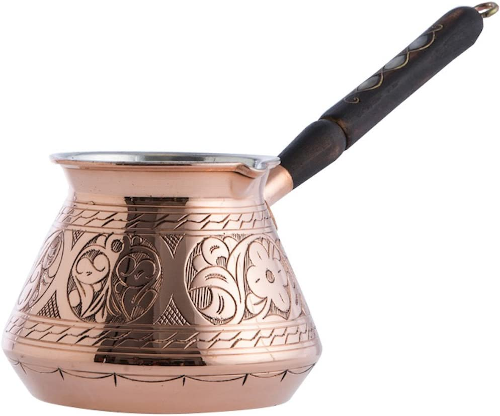copperbull thick turkish coffee pot
