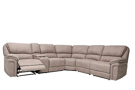 Tremendous Amazon Com Blackjack Furniture 7098 Beige Sect Austin Gamerscity Chair Design For Home Gamerscityorg