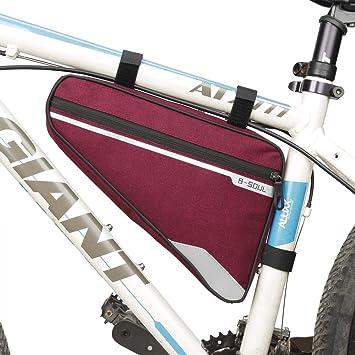 UICICI Bolsa de Cuadro de Bicicleta, Accesorios de Ciclismo al ...