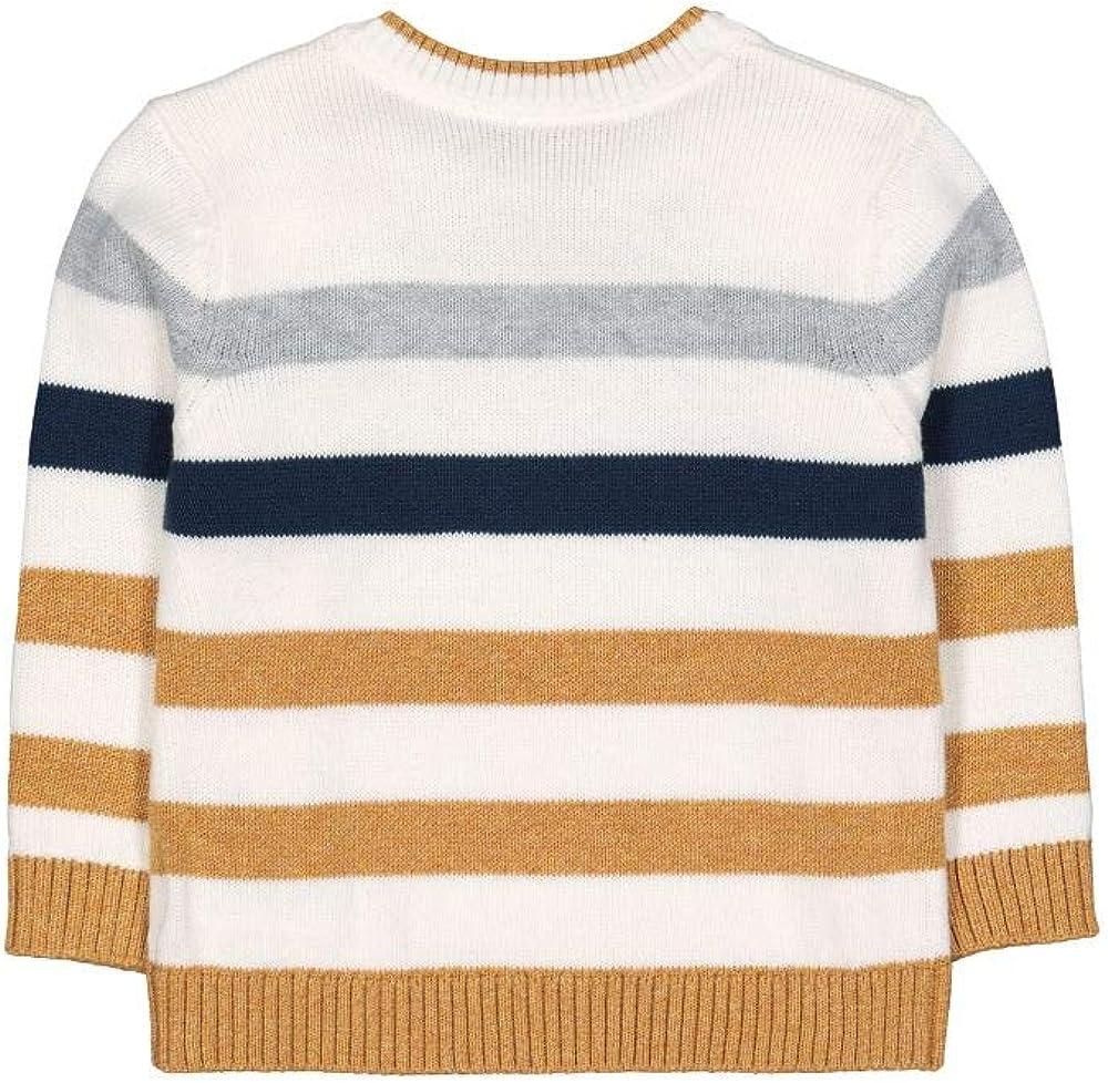 Mothercare MB TCT Stripe Knitted Jumper Pull Mixte b/éb/é