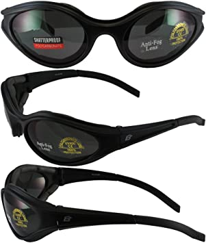 Smoked Lens Motorcycle Motorbike Goggles Eagle Eyes