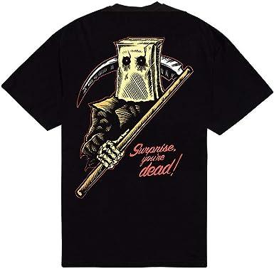 Doomsday Camiseta - para Hombre Negro S: Amazon.es: Ropa y accesorios